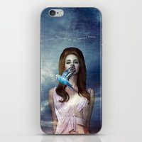 ultraviolence iPhone & iPod Skins featuring I Hear The Birds by Wis Marvin