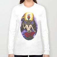baphomet Long Sleeve T-shirts featuring Baphomet by Sam Martinez