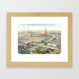 Paris World Fair 1900 Framed Art Print