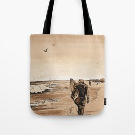 Coffee Art- Surf Tote Bag