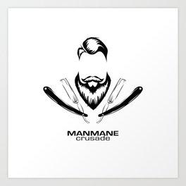 ManMane Crusade Art Print