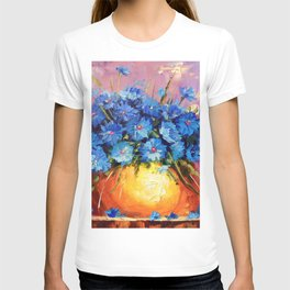 Bouquet of CORNFLOWERS T-shirt