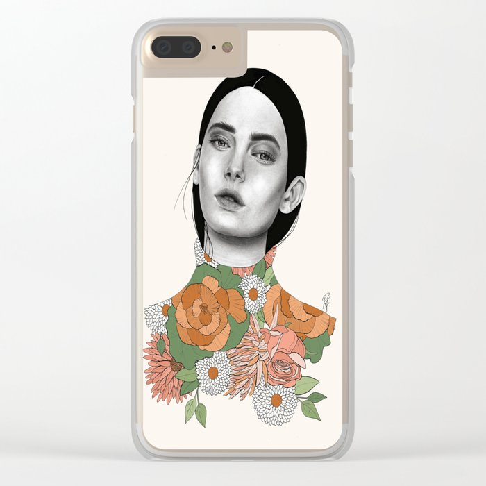 You Can Find Me In Spring Clear iPhone Case