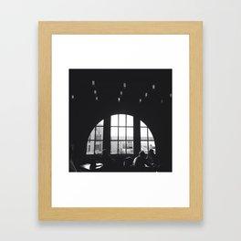 Contrast. Framed Art Print