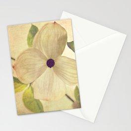 dogwood closeup Stationery Cards