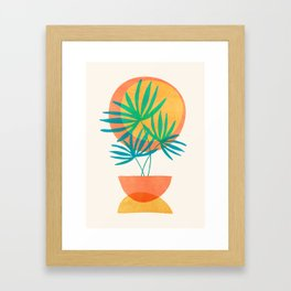 Summer Eclipse Framed Art Print