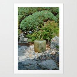 Japanese garden 7 Art Print