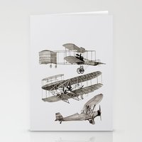 airplanes Stationery Cards featuring airplanes 3 by Кaterina Кalinich