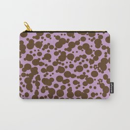 Bubbles in the Batter - Lavender-Chocolate Carry-All Pouch