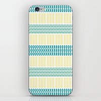 knit iPhone & iPod Skins featuring Knit Pattern by K&C Design