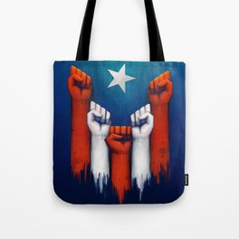 Puerto Rico power of the people Tote Bag