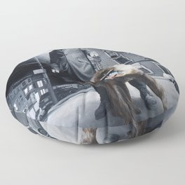 Civilized Society Floor Pillow