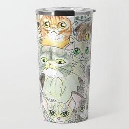 Cat Breeds Travel Mug