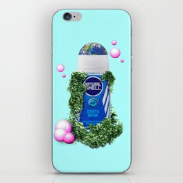 ARMPIT DEODORANT - NATURE EARTH iPhone Skin