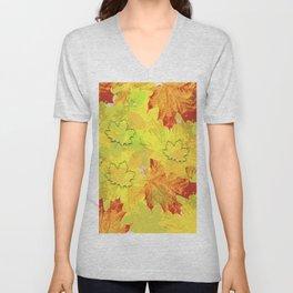 Autumn impression Unisex V-Neck