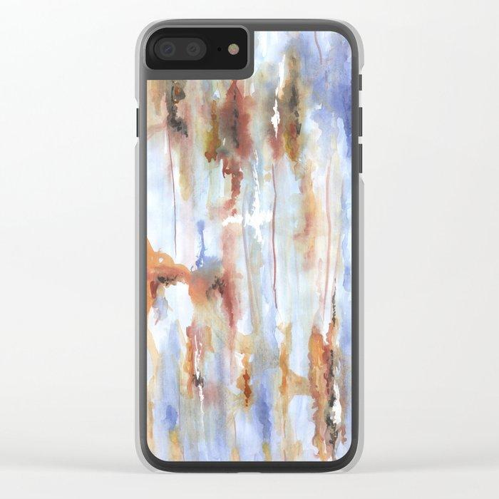 Дыхание осени Clear iPhone Case