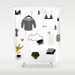 Essentials Shower Curtain