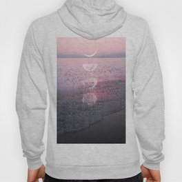 Glitches at Sunset Hoody