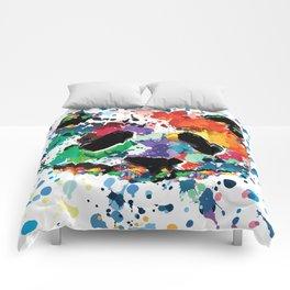 Splash panda Comforters