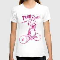 train T-shirts featuring Train Like A Boss by Huebucket