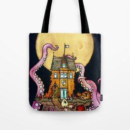 The Midnight Chateau Tote Bag