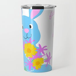 Scout with Flowers: Find Your Hoppy! Travel Mug