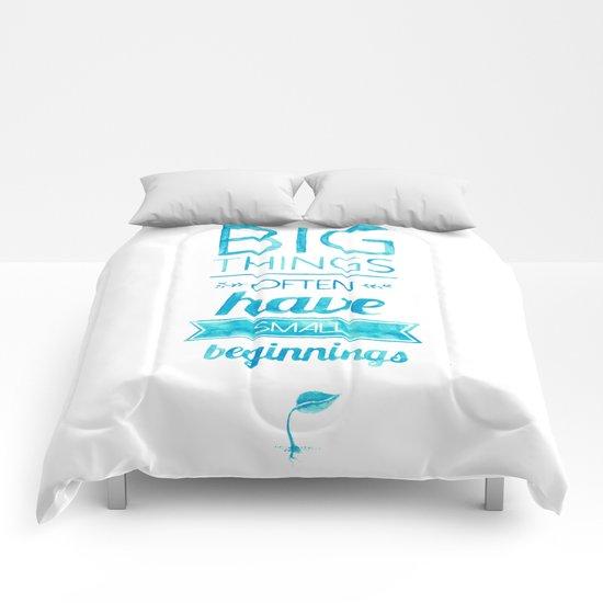 Big Things Comforters