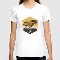 lamborghini T-shirts featuring Lamborghini Miura by Liviu Antonescu