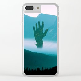 Hands of hope Clear iPhone Case