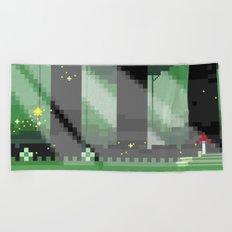 Zelda: Lost Woods Beach Towel