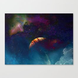 SEEKING THE LIGHT Canvas Print