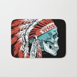Skull Chief Bath Mat
