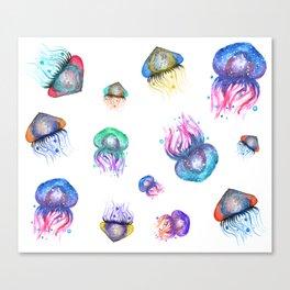 Galaxy Jellyfish Canvas Print