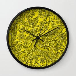 இ Ornamentic explosion இ Wall Clock