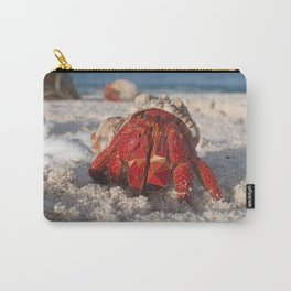 Hermit Crab By The Shore Carry-All Pouch