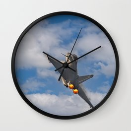 Eurofighter Typhoon Wall Clock