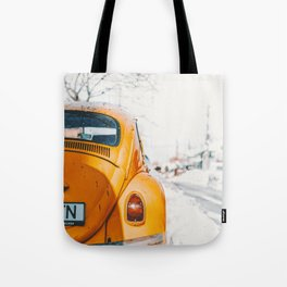 Yellow Taxi (Color) Tote Bag