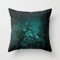 night sky Throw Pillows featuring Night Sky by ANNA