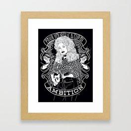 Dolly Parton Ambition Framed Art Print