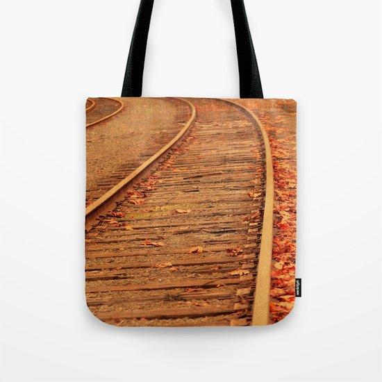 AUTUMN RAILS Tote Bag