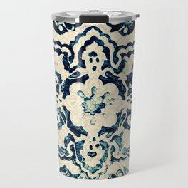 Azulejo II - Portuguese hand painted tiles Travel Mug