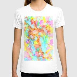 unicorn marble T-shirt