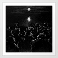 Drawlloween 2015: Zombie Art Print