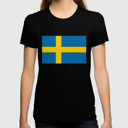 Flag of Sweden - Authentic (High Quality Image) T-shirt