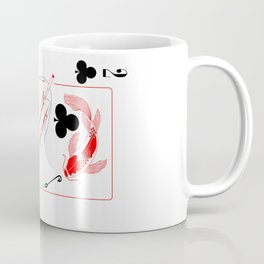 Koi of Clubs Coffee Mug