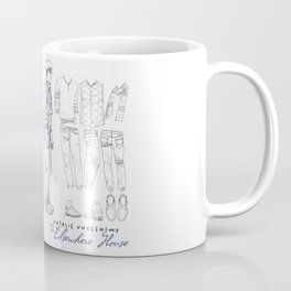 No. 3 Natalie Close character design, pencil/ink Coffee Mug