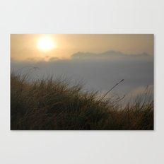 Sunrise macro Canvas Print