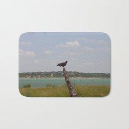 Texas Turkey Vulture Bath Mat