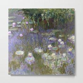 Water Lilies by Claude Monet, 1922 Metal Print