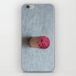 Wine cork iPhone Skin